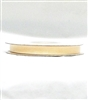 "RN-86 Ivory sheer organza ribbon 1/4"" x 25yds."