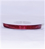 "RN-94 Burgundy sheer organza ribbon 1/4"" x 25yds."