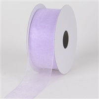 "RO-08-25 Iris sheer organza ribbon. 1 1/2"" x 25yds"