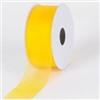 "RO-65 Daffodil sheer organza ribbon 1 1/2"" x 100yds"