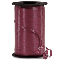 RS-94 Burgundy-curling ribbon spool  3/16in. x 500 yds.