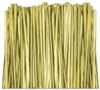 "TT-01-500 Metallic Gold twist tie. 3 1/2"" Length Quantity 500"