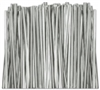 "TT-02-500 Metallic Silver twist tie. 3 1/2"" Length Quantity 500"