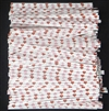 "TTP-10 Printed Paper Red/Pink Hearts twist tie. 3 1/2"" Length Quantity 2000"