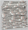 "TTP-11-500 Printed Paper I (heart) chocolate twist tie. 3 1/2"" Length Quantity 500"