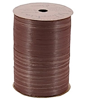 WR-18 Chocolate Matte Wraphia 100 yds.