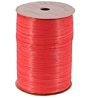 WR-63 Red Matte Wraphia 100 yds.