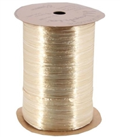 WRP-24 Oatmeal Pearlized Wraphia 100 yards