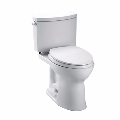 Drake® II Two-Piece Toilet, 1.28 GPF, Elongated Bowl