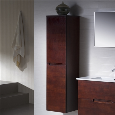 Contemporary Linen Cabinet Elton 14 Modern Bathroom
