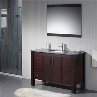 Vanity Parsons 49 with Quartz Stone