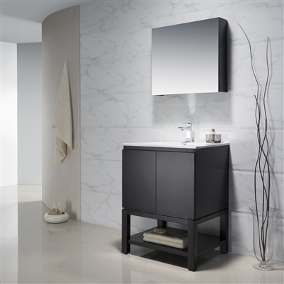 Vanity Emmet 25 with Porcelain Top