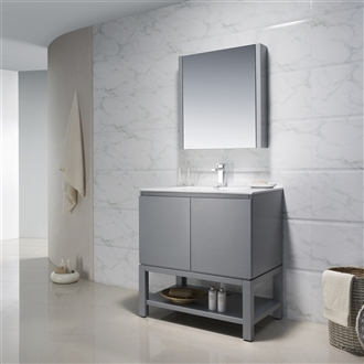 Vanity Emmet 31 with Porcelain Top