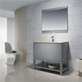 Vanity Emmet 37 with Quartz Stone