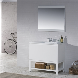 Vanity Emmet 37 - Solid Surface