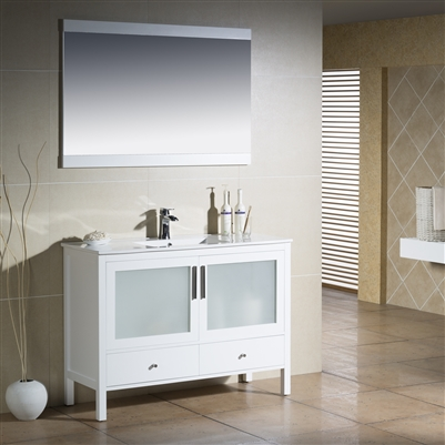 Vanity Fulton 48 with Porcelain Top