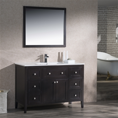 Vanity Victoria 49 with Porcelain Top