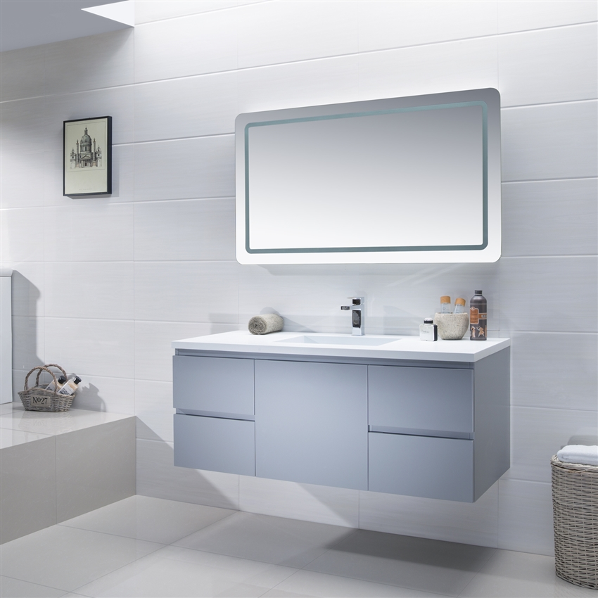 Attrayant Vanity Adams 49   Solid Surface