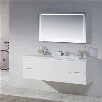 Quick View This Product Vanity Adams 60 S   Solid Surface