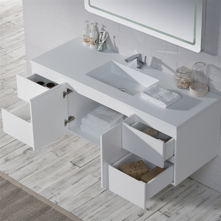 Large Wall Hanging Bathroom Sink Extra Large Bathroom Vanity