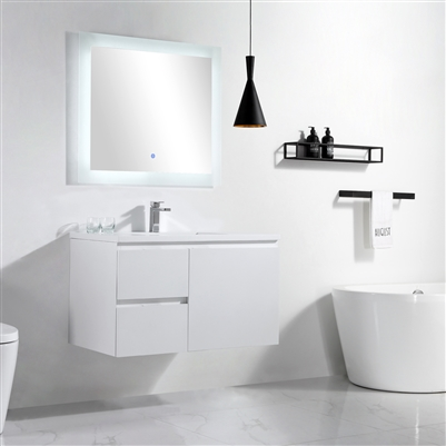 Vanity Logan 37 - Solid Surface