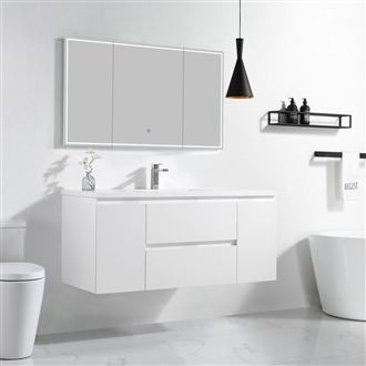 Vanity Logan 49 - Solid Surface