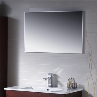 "Metal Framed Mirror 24"" to 48"""