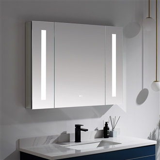 Lighted Mirror Cabinet 42""