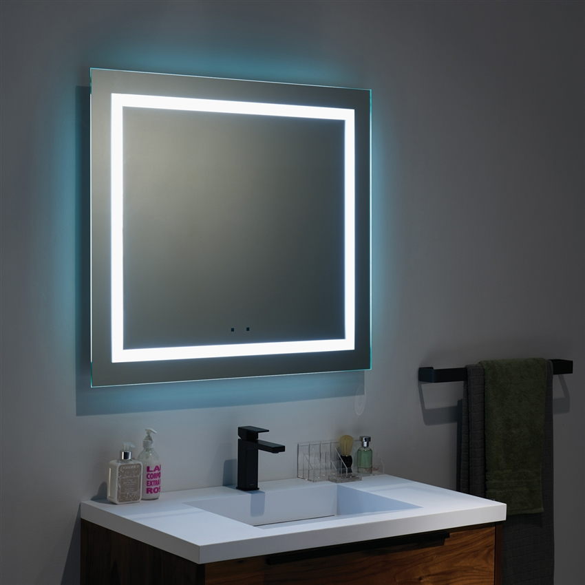 Led Mirror 24 To 72 Reversible
