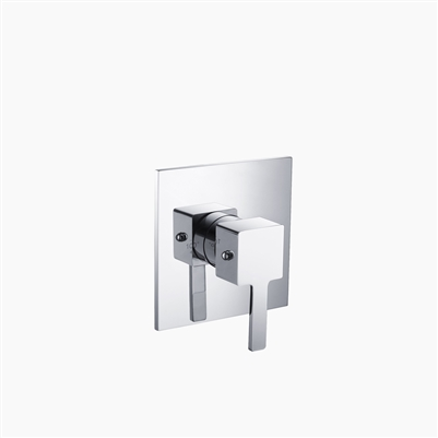 One Way Thermostatic Valve and Trim Set - Square