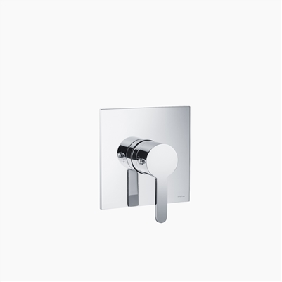 One Way Thermostatic Valve and Trim Set - Round