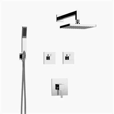 Delia Shower Set - Two Functions