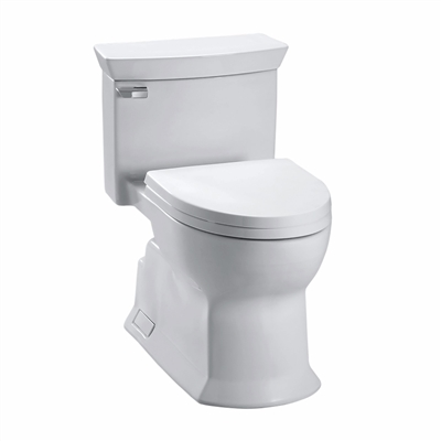 Eco Soirée® One Piece Toilet, 1.28 GPF, Elongated Bowl