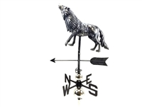 SK10094 - Stainless Steel Weathervane - Wolf