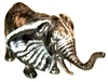SK10102 - Stainless Steel Sculpture - Elephant
