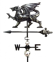 SK10112 - Stainless Steel Weathervane - Dragon