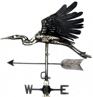 SK10117 - Stainless Steel Weathervane - Heron