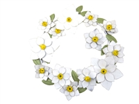 Daisy Ring metal wall art