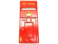Royal mail front fascia cast metal post box