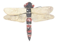Dragonfly wood wall art