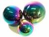 Stainless steel garden gazing balls