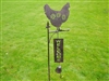 Ornament metal art sculpture welcome stake