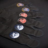 Sun Path Carbondura Leg Pad Covers w/ Custom Color Logo