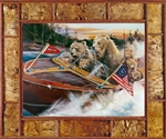 "Bear Craft III canvas print by Marilynn Mason, 30"" x 40"""
