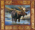 Bull Of The Woods by artist Marilynn Mason