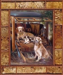 Country Life dog print by artist Marilynn Mason