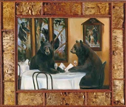 Dinner For Two by artist Marilynn Mason