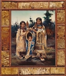 Kiowa Children by artist Marilynn Mason