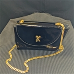 Paloma Picasso Patent Leather Crossbody Hand Bag