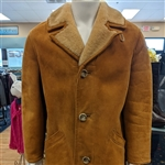 Californian Featherweight 1970's Vintage Spring Lambs Wool Men's Coat